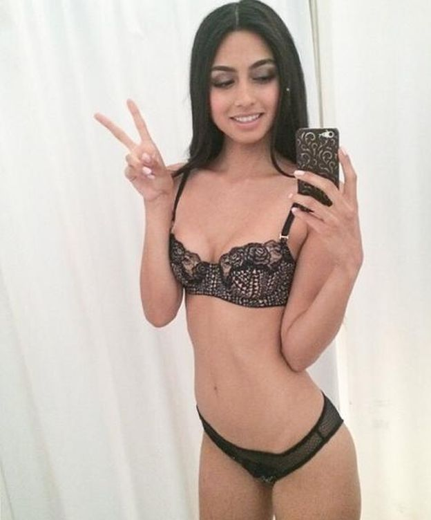 Foto: La modelo y ex miss italiana, Ambra Battilana (Instagram)