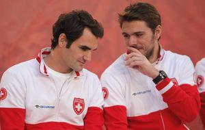 Federer y Wawrinka firman la paz por Suiza y apartan los lloriqueos