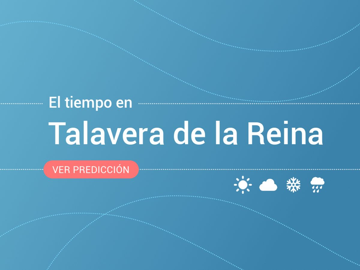 Foto: El tiempo en Talavera de la Reina. (EC)