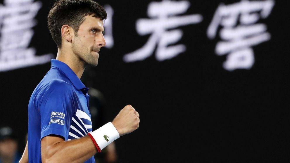 Djokovic apabulla a Pouille y se verá con Nadal en la final del Open de Australia