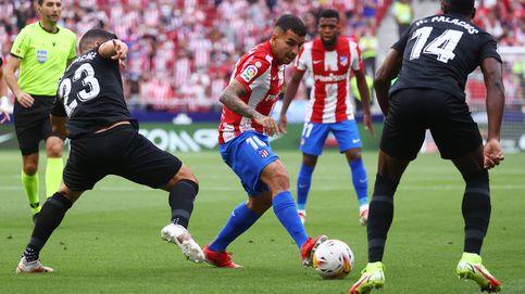 La explosión goleadora de Ángel Correa y el abrazo de Simeone que lo cambió todo