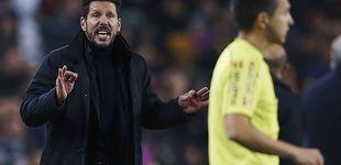 Post de Simeone carga contra los árbitros, mientras llora por el '9' que nunca llegó