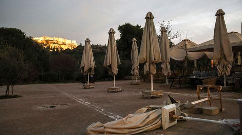 Una tragedia griega: las pymes se hunden tras la odisea del nuevo confinamiento