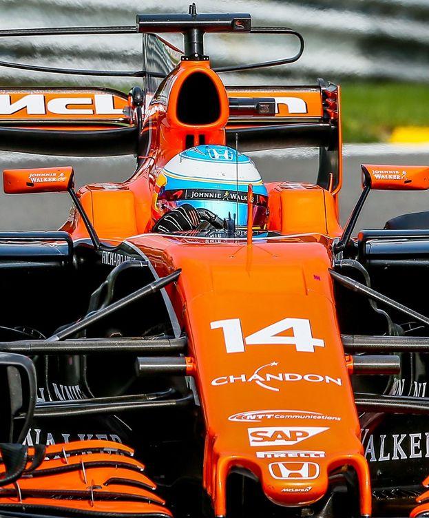 Foto: Fernando Alonso rozó la Q3 este sábado en Spa. (Reuters)