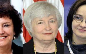 Trío de damas en la política monetaria mundial: Flag, Yellen y Nabiullina