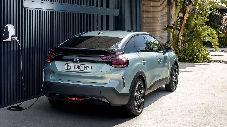 El Citroen ë-C4 fabricado en Madrid es una apuesta para los particulares.