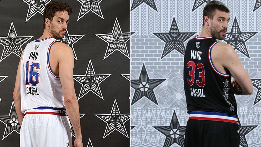 Pau y Marc Gasol, dos maneras de alcanzar el éxito en la NBA