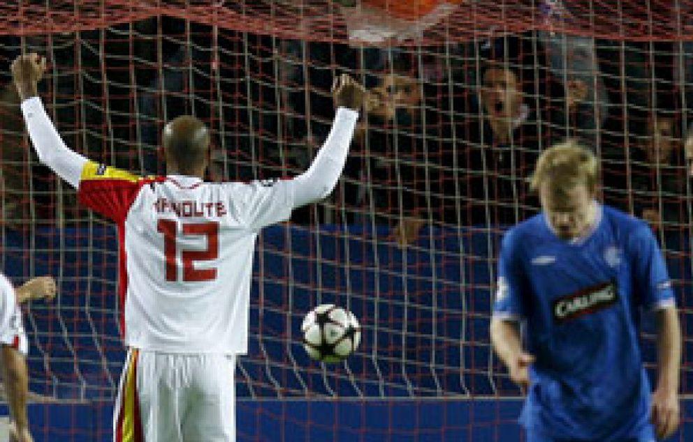 El Sevilla cierra su pase a octavos a la perfección