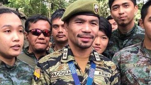 Pacquiao y su nueva pelea: acabar con el ISIS en Filipinas... Me uniré a ustedes