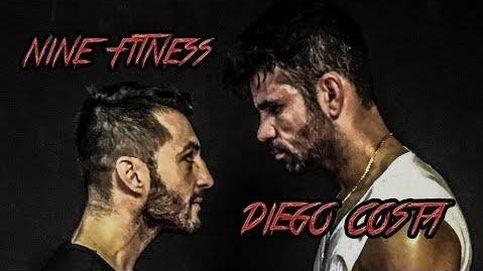 Diego Costa se pasa al boxeo en el gimnasio de Fernando Torres