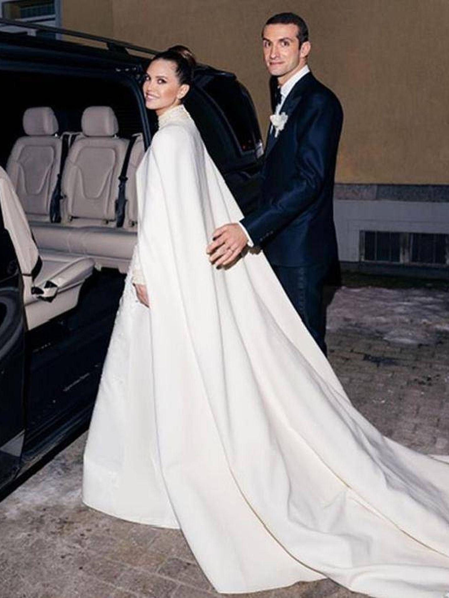 Los novios, Dasha Zhukova y Stavros Niarchos III. (Instagram)