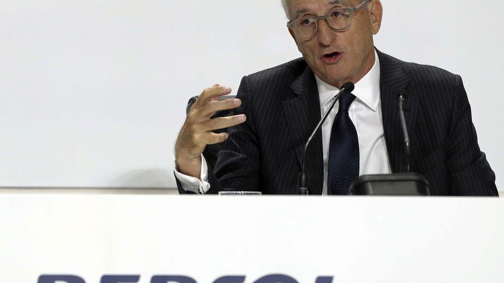 Foto: Junta de accionistas de Repsol (Efe)