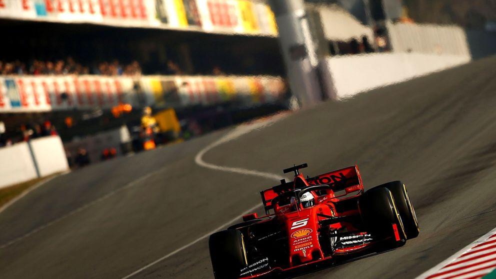 Con Pedro de la Rosa, en la pista: He alucinado cada vez que salía el Ferrari