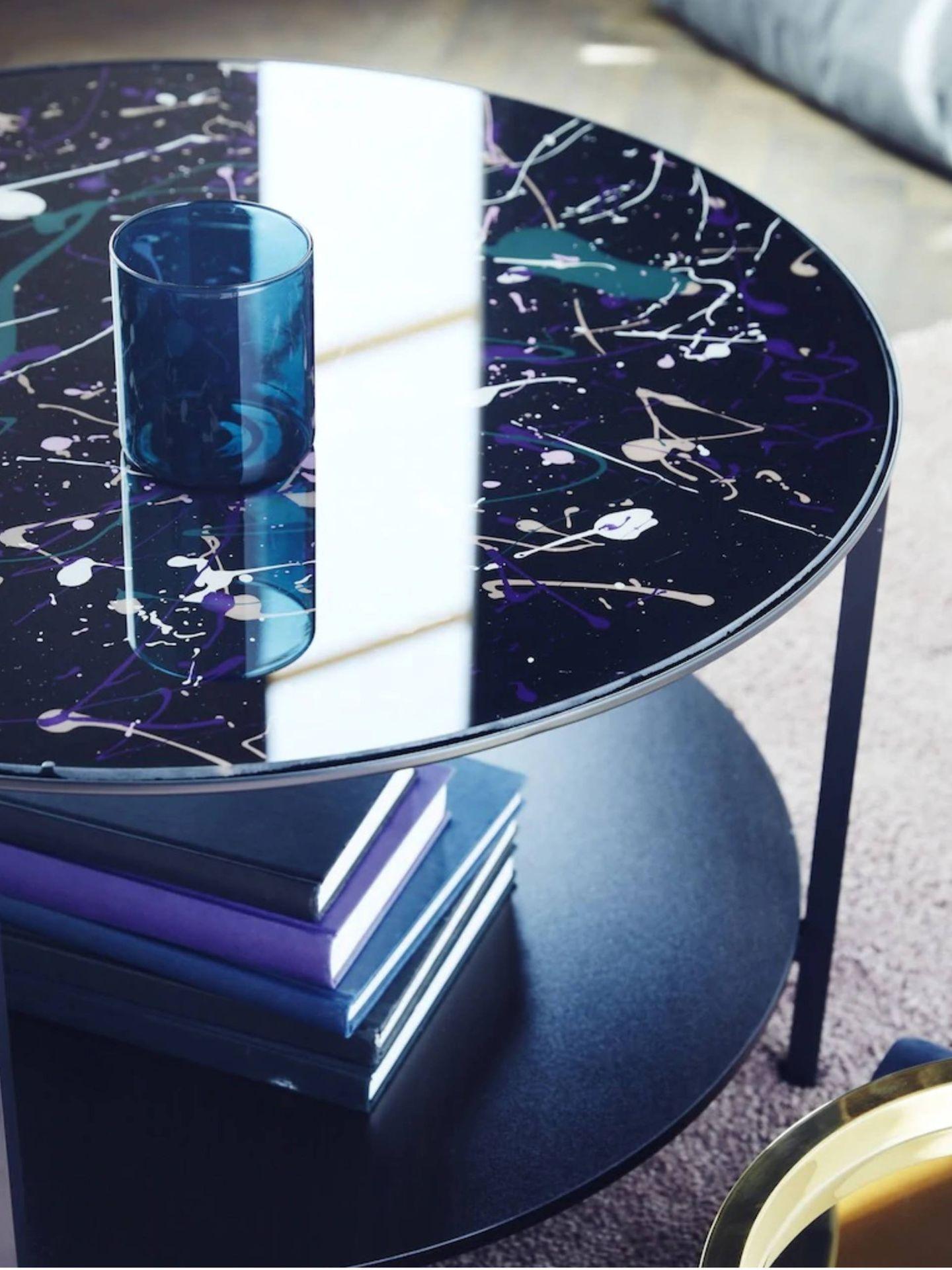 Convierte tu mesa de centro de Ikea en una obra de arte. (Cortesía)