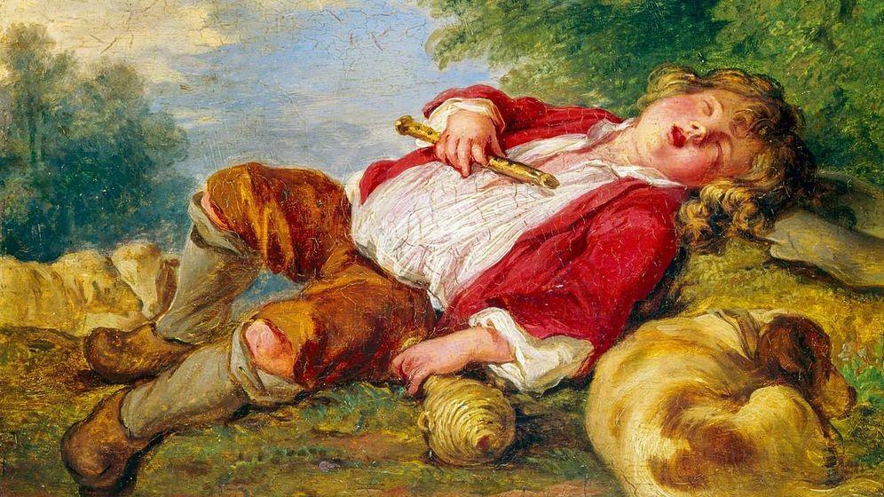 Foto: 'Pastor dormido' de Françoise Boucher, una de las obras robadas por Breitwieser.