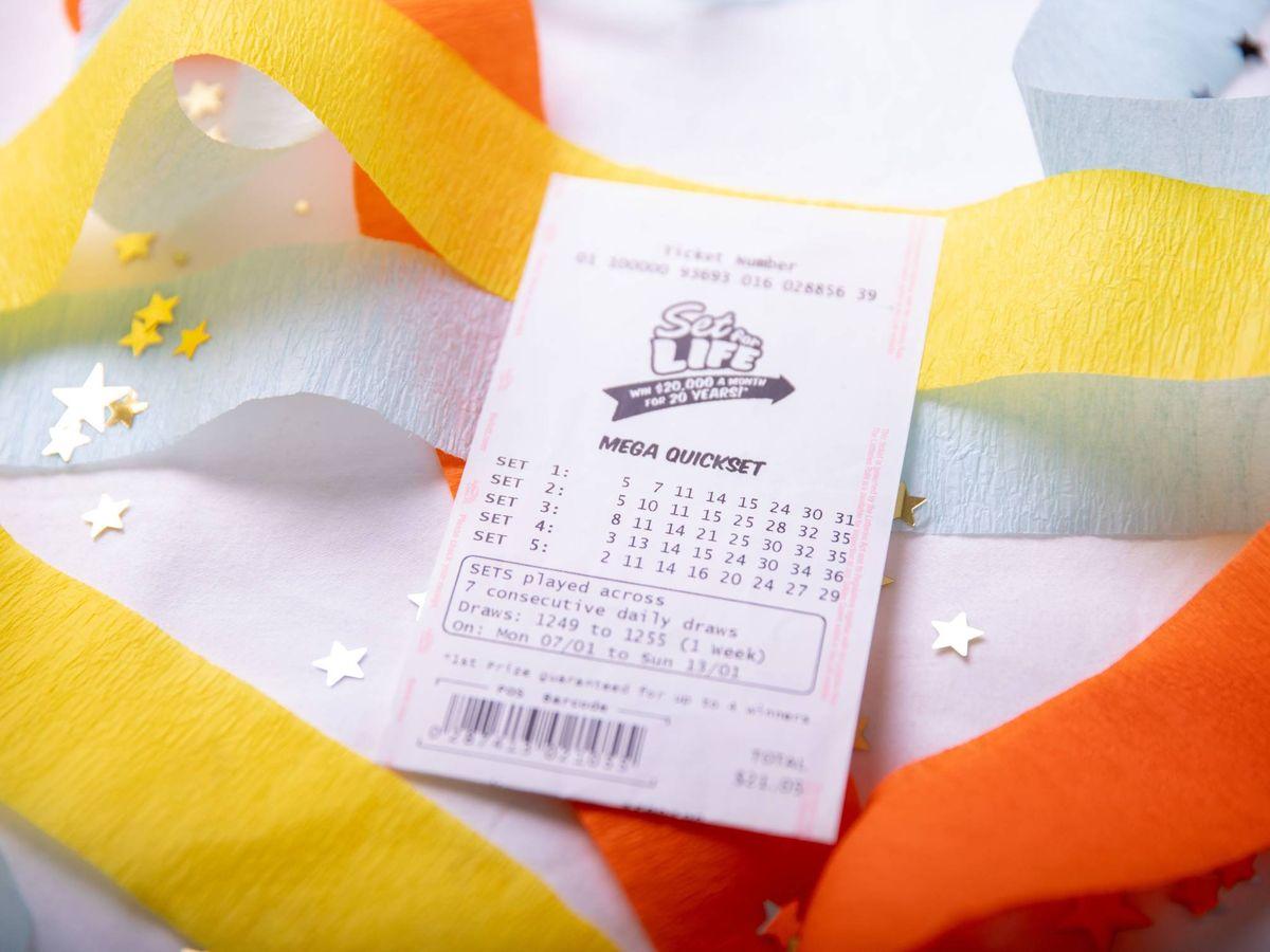 Foto: Ganó la lotería, pero eso no le hizo cambiar sus rutinas diarias (The Lott)