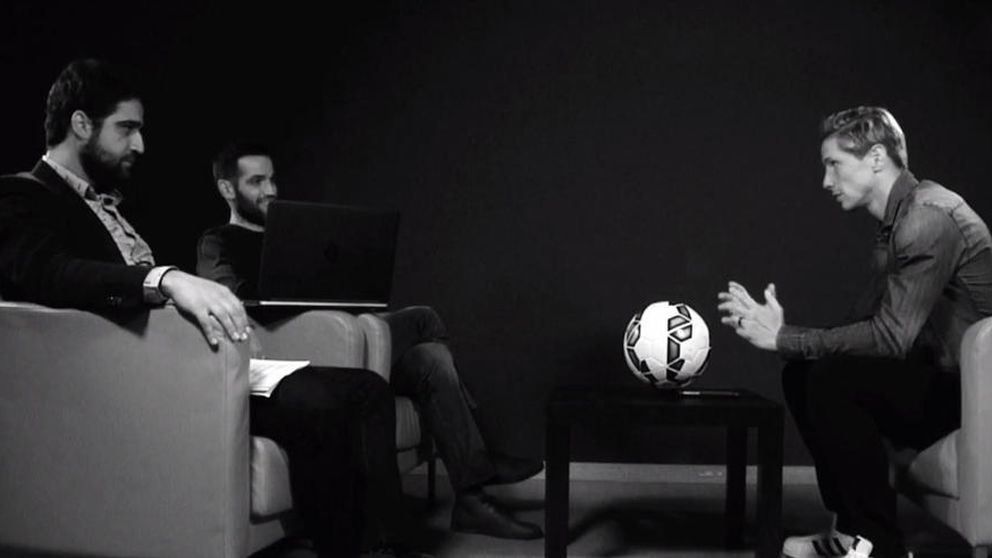 Fernando Torres: Yo sólo juego al fútbol; tú haces que nos superemos