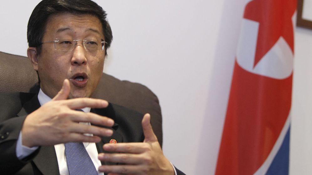 Foto: El embajador norcoreano en España, Kim Hyok Chol. (EFE)