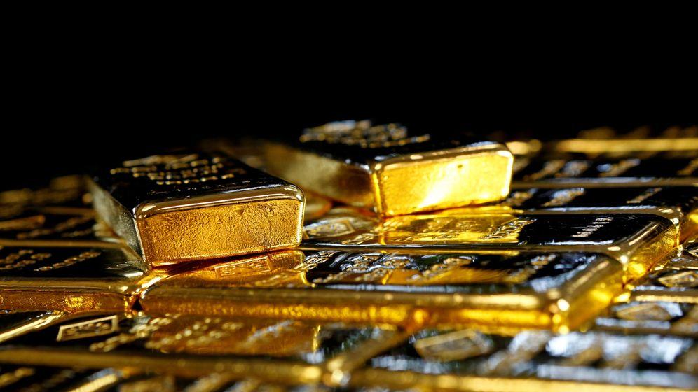 Foto: Lingotes de oro. (Reuters)