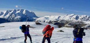 Post de Un esquiador se salta el aislamiento y muere tras despeñarse por una montaña
