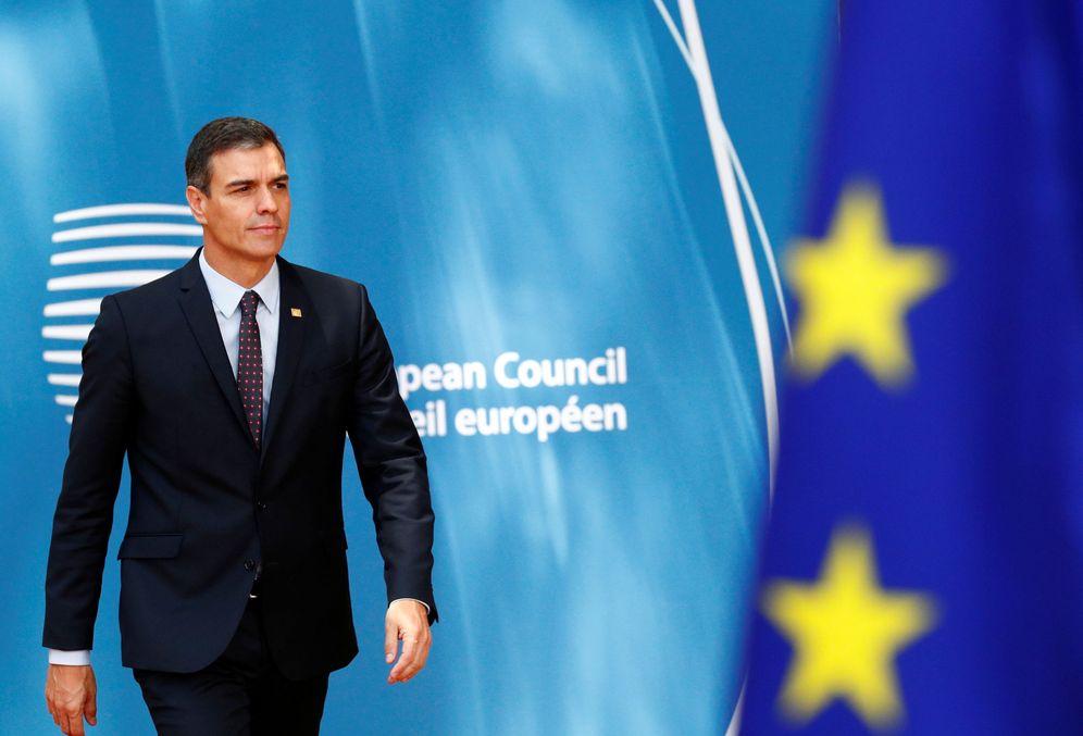 Foto: Pedro Sánchez, el pasado 2 de julio a su llegada al Consejo Europeo extraordinario en Bruselas. (Reuters)