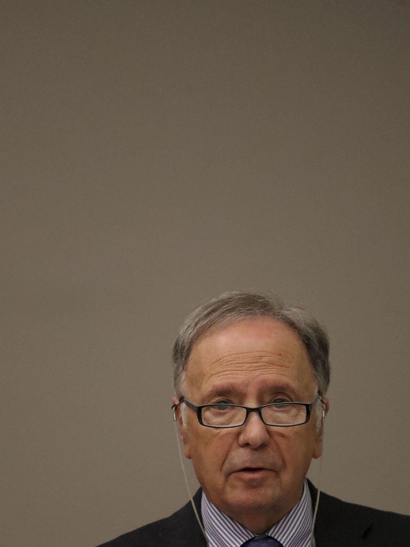 Miguel Bernad, durante una rueda de prensa. (EFE)