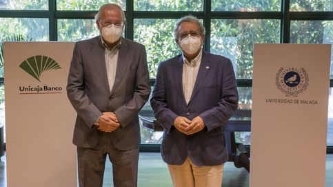 Unicaja apoya la puesta en marcha de un laboratorio de la UMA de investigación covid