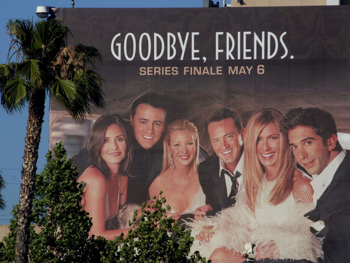 Foto: El anuncio del final de 'Friends'