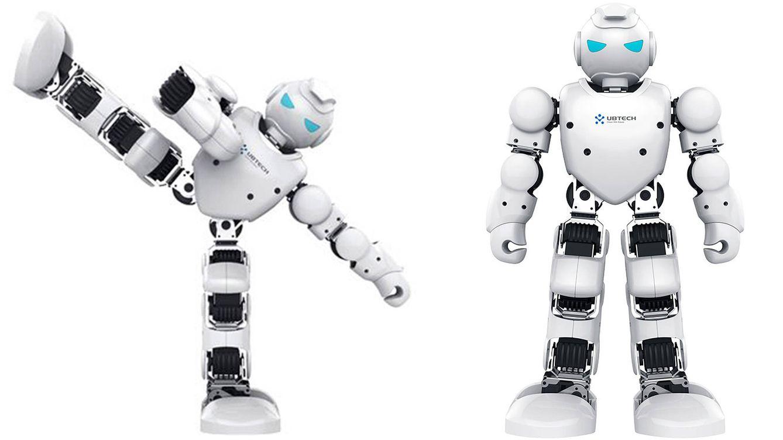 Foto: La nueva generación de robots Alpha1 Pro dispone de nueva apariencia y 16 articulaciones para brindar una mejor experiencia de simulación humana.