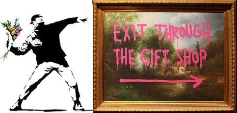 El grafitero Banksy se ríe de su enigma en Sundance