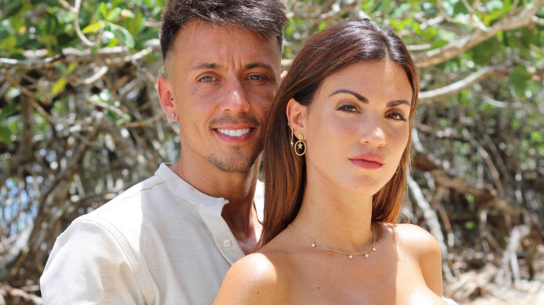 Cristian y Melodie, una de las parejas de la T2 de 'La isla de las tentaciones'. (Mediaset)