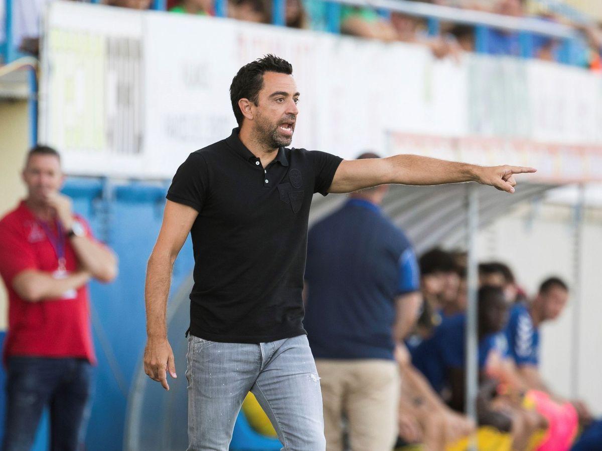 Foto: Xavi Hernández es el entrenador del Al-Sadd desde el mes de julio. (EFE)