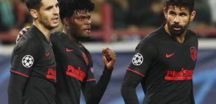 Post de La 'supersónica' carrera del Atlético para proteger a Oblak... y la animalada de Costa
