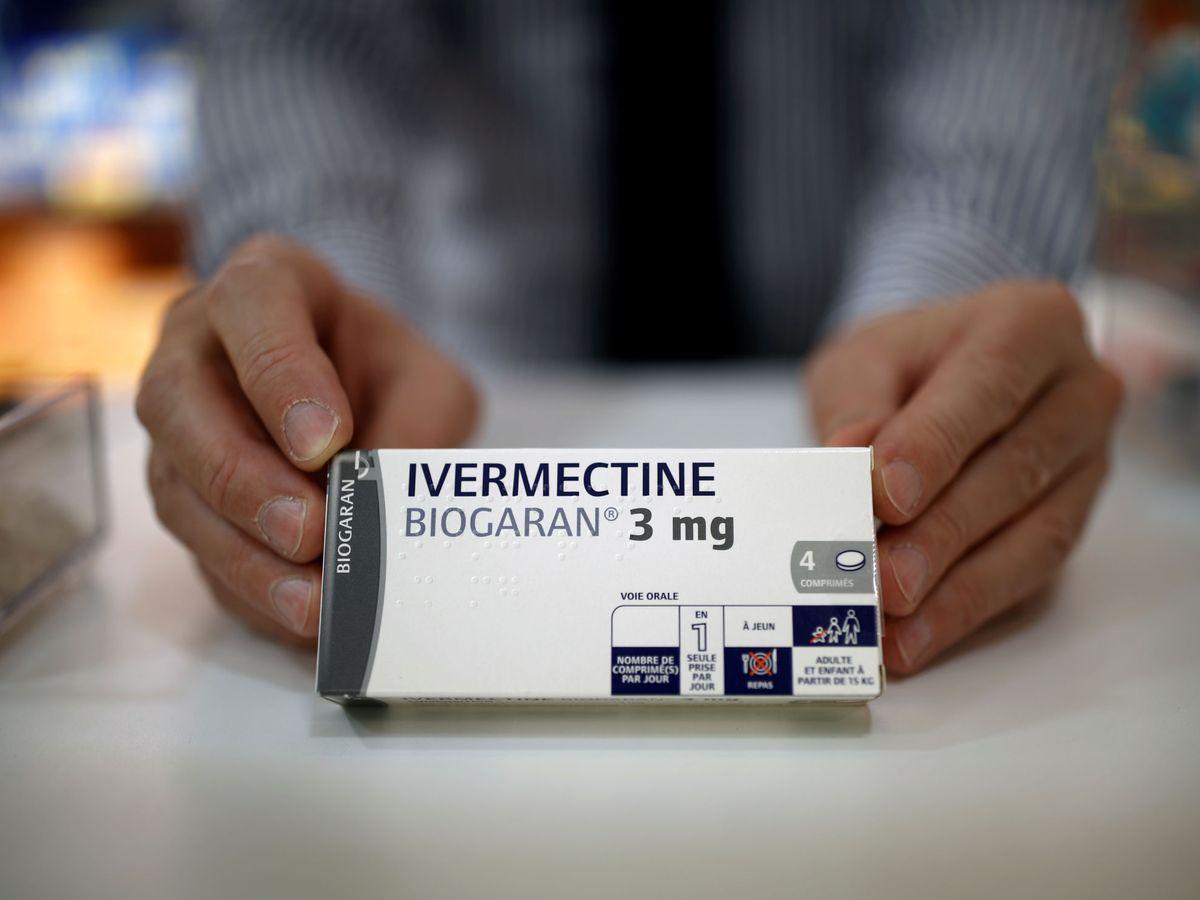 Foto: Caja de ivermectina. (Reuters)