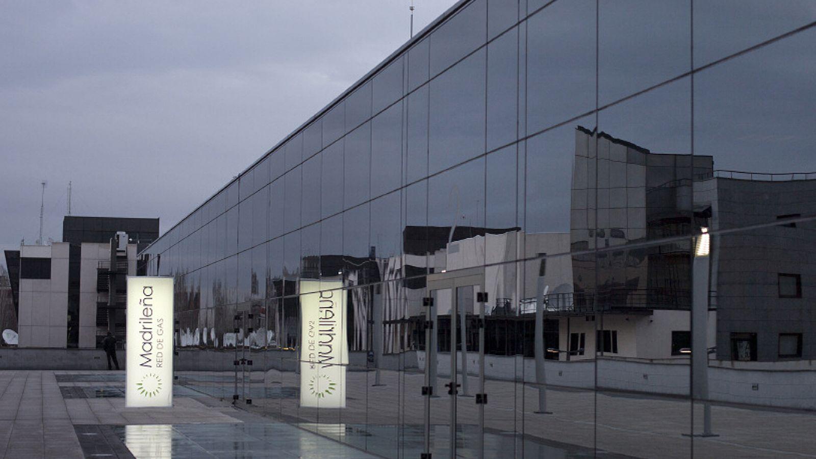 Foto: Fachada de la sede de Madrileña Red de Gas en Pozuelo de Alarcón.
