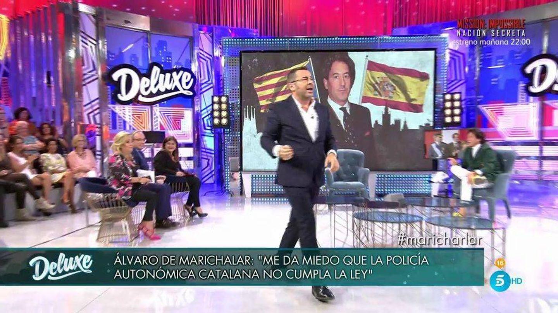 Jorge Javier echa del 'Deluxe' a Álvaro de Marichalar.