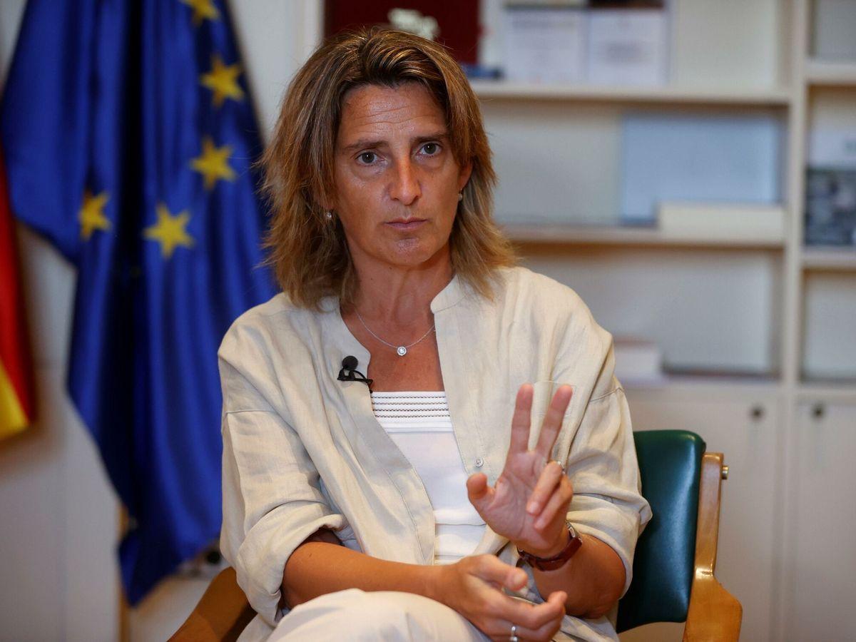 Foto: La ministra de Transición Ecológica y Reto Demográfico, Teresa Ribera. (EFE)