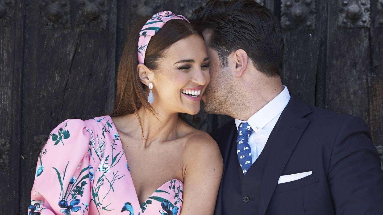 Paula Echevarría y David Bustamante, en la primera comunión de su hija Daniella. (Getty)