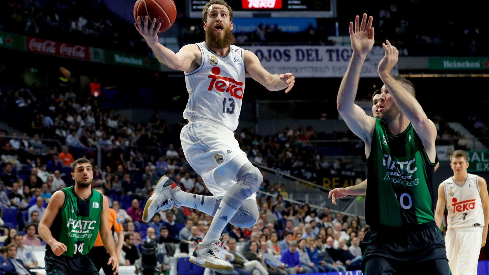 Foto: Sergio Rodríguez acabó con 10 puntos (Juanjo Martín/EFE)