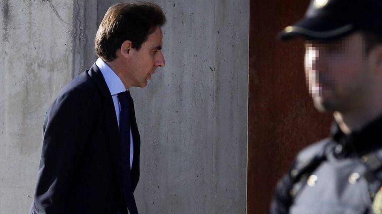 Javier López Madrid, llegando a declarar en los tribunales. (EFE)