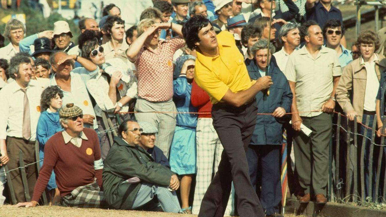 Foto: 'Seve', en el British Open de 1976. (Página oficial de The Open)
