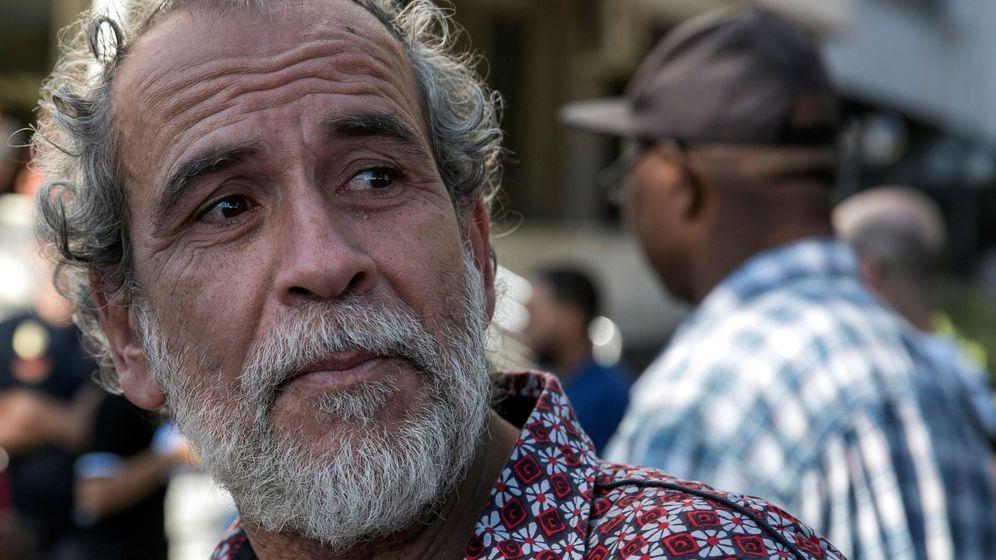 Foto: El actor Willy Toledo tras declarar ante el juzgado de instrucción número 11 de Madrid. (EFE)