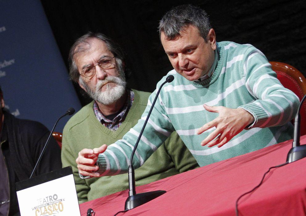 Foto: El director del Centro Dramático Nacional, Ernesto Caballero (a la derecha) (Efe)
