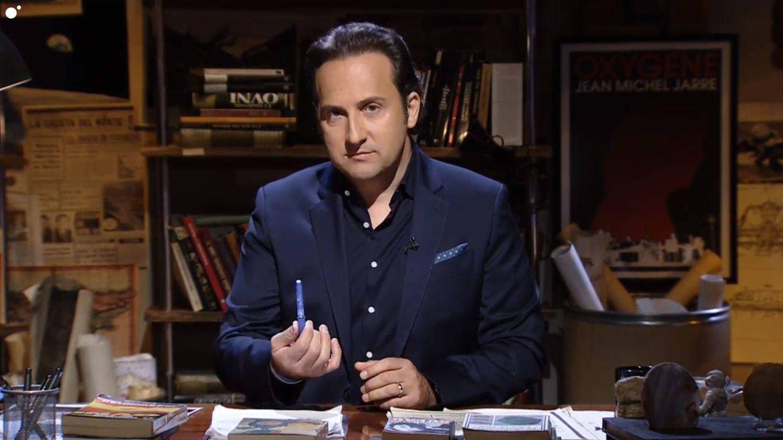 Iker Jiménez en Cuarto Milenio. (Mediaset España)