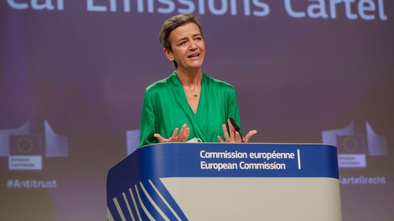 La comisararia de la Competencia, Margrethe Vestager. (Reuters)