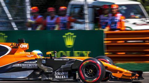 ¿Alonso a 344 km/h y en Monza? Pero era fuera de la pista donde estaba el 'tomate'