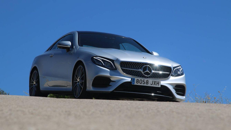 Mercedes E220 Coupé, rápido, confortable, seguro y con  un eficiente motor de 190 CV