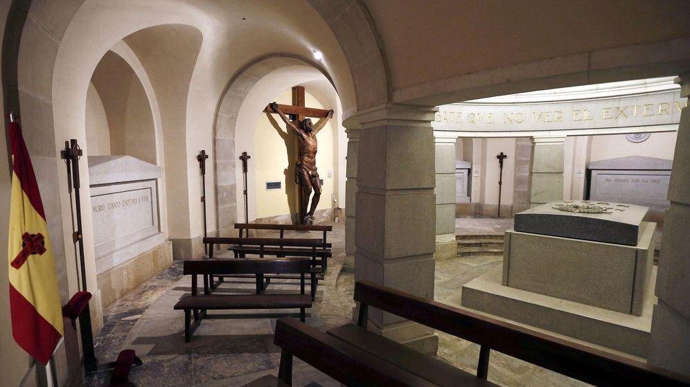 Foto: La cripta del Monumento a los Caídos donde se encontraba enterrado José Sanjurjo. (EFE)
