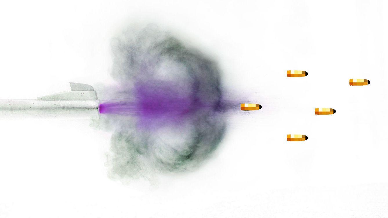 Foto: Las cinco balas de Podemos para el 20-D (Enrique Villarino)