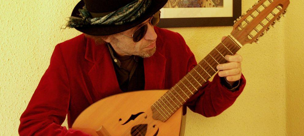 Foto: El músico Xabier Baró.